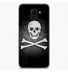 Coque en silicone Samsung Galaxy J6 2018 - Drapeau Pirate