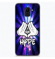 Coque en silicone Samsung Galaxy J6 2018 - Hype Illuminati