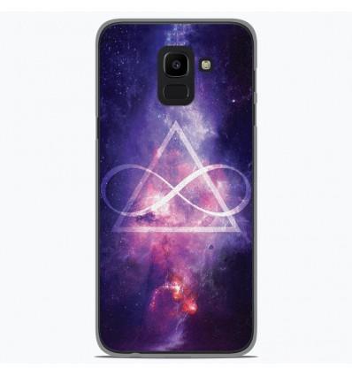 Coque en silicone Samsung Galaxy J6 2018 - Infinite Triangle