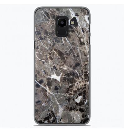 Coque en silicone Samsung Galaxy J6 2018 - Marbre