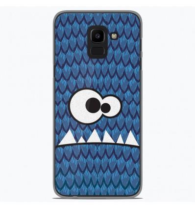 Coque en silicone Samsung Galaxy J6 2018 - Monster