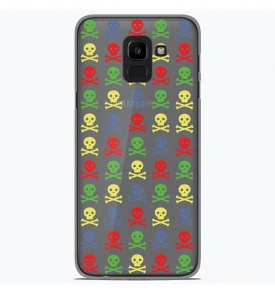 Coque en silicone Samsung Galaxy J6 2018 - Skull Couleur