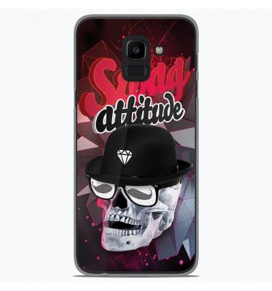 Coque en silicone Samsung Galaxy J6 2018 - Swag Attitude