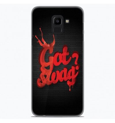 Coque en silicone Samsung Galaxy J6 2018 - Swag Drop