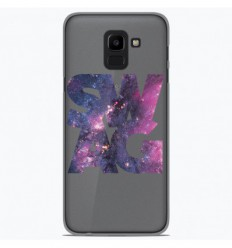 Coque en silicone Samsung Galaxy J6 2018 - Swag Space