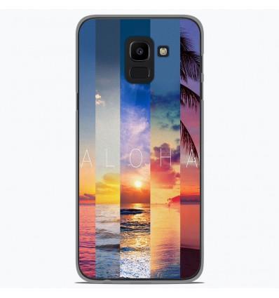 Coque en silicone Samsung Galaxy J6 2018 - Aloha