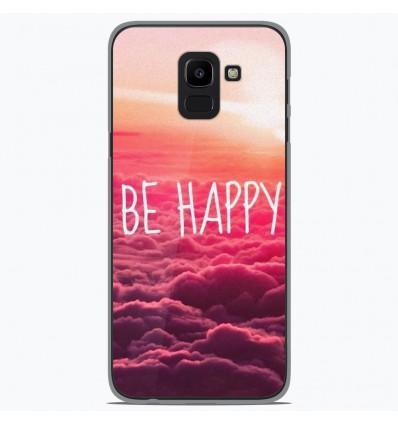 Coque en silicone Samsung Galaxy J6 2018 - Be Happy nuage