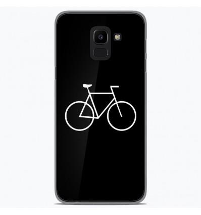 Coque en silicone Samsung Galaxy J6 2018 - Bike Hipster