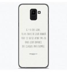 Coque en silicone Samsung Galaxy J6 2018 - Citation 01