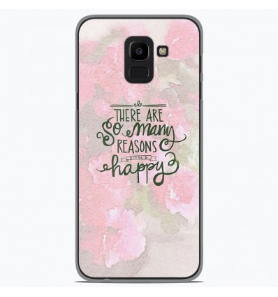 Coque en silicone Samsung Galaxy J6 2018 - Citation 02