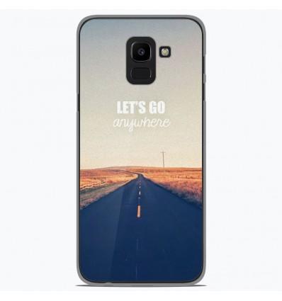 Coque en silicone Samsung Galaxy J6 2018 - Citation 03
