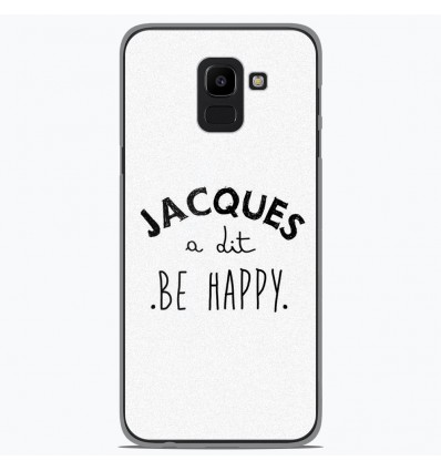 Coque en silicone Samsung Galaxy J6 2018 - Citation 05