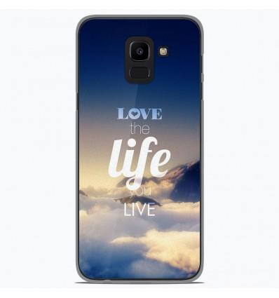 Coque en silicone Samsung Galaxy J6 2018 - Citation 06