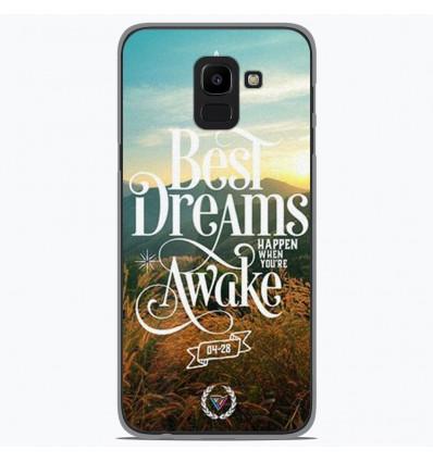 Coque en silicone Samsung Galaxy J6 2018 - Citation 07