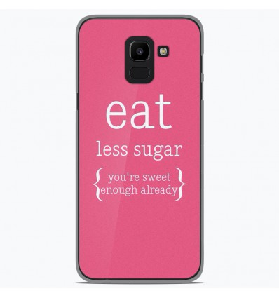 Coque en silicone Samsung Galaxy J6 2018 - Citation 15