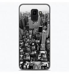 Coque en silicone Samsung Galaxy J6 2018 - City