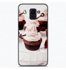 Coque en silicone Samsung Galaxy J6 2018 - Cup Cake