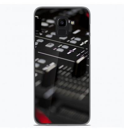 Coque en silicone Samsung Galaxy J6 2018 - Dj Mixer