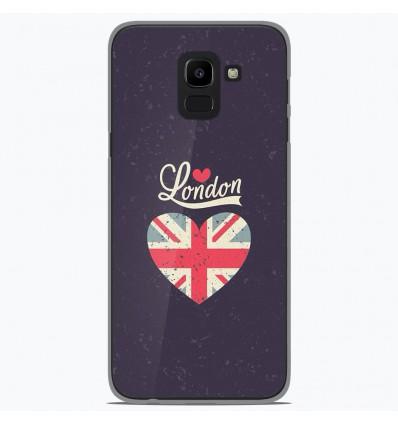 Coque en silicone Samsung Galaxy J6 2018 - I love London