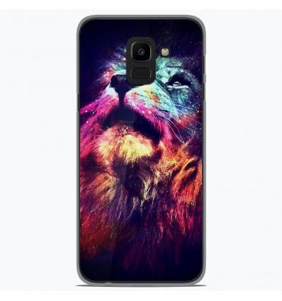Coque en silicone Samsung Galaxy J6 2018 - Lion swag