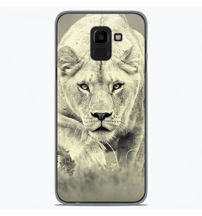 Coque en silicone Samsung Galaxy J6 2018 - Lionne