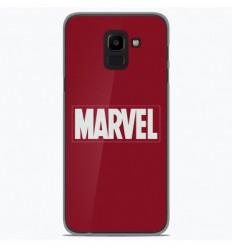 Coque en silicone Samsung Galaxy J6 2018 - Marvel