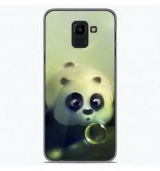 Coque en silicone Samsung Galaxy J6 2018 - Panda Bubble