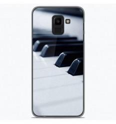 Coque en silicone Samsung Galaxy J6 2018 - Piano