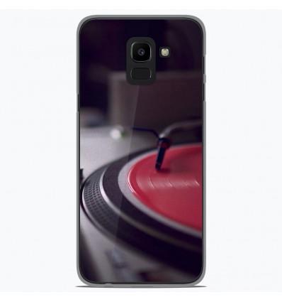 Coque en silicone Samsung Galaxy J6 2018 - Platine