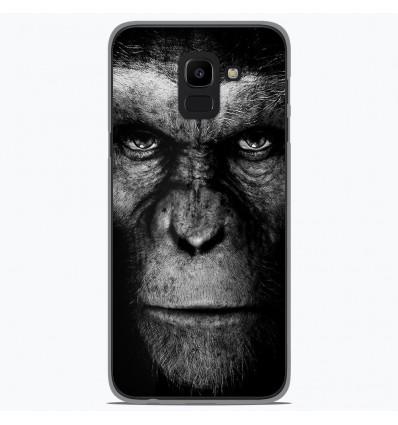 Coque en silicone Samsung Galaxy J6 2018 - Singe