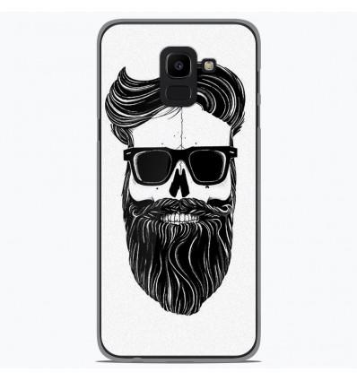 Coque en silicone Samsung Galaxy J6 2018 - Skull Hipster