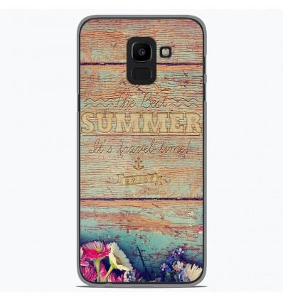 Coque en silicone Samsung Galaxy J6 2018 - The best summer