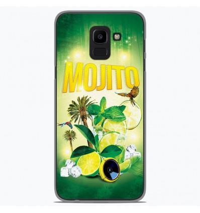 Coque en silicone Samsung Galaxy J6 2018 - Mojito Forêt
