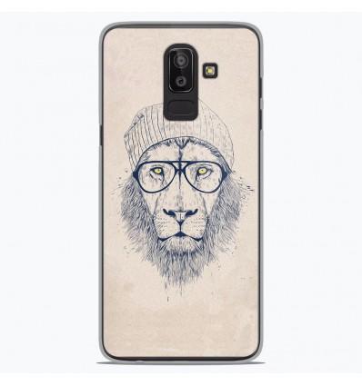 Coque en silicone Samsung Galaxy J8 2018 - BS Cool Lion