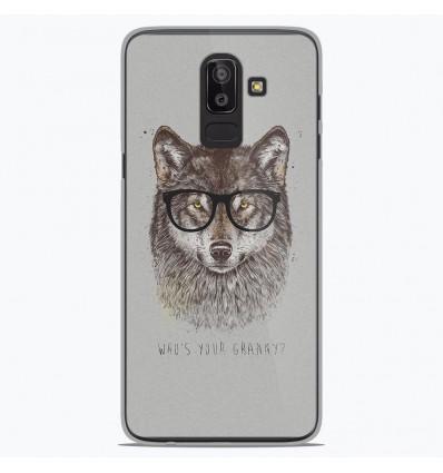 Coque en silicone Samsung Galaxy J8 2018 - BS Granny
