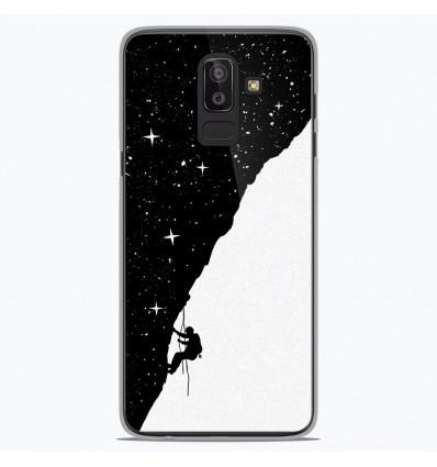 Coque en silicone Samsung Galaxy J8 2018 - BS Nightclimbing