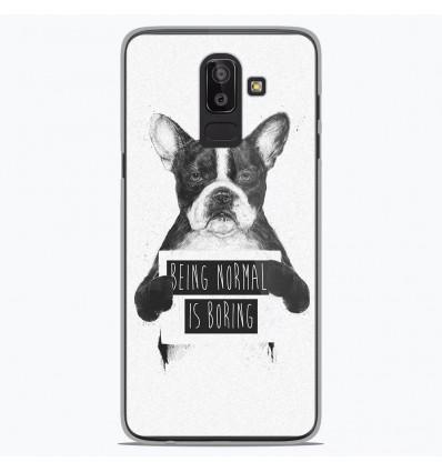 Coque en silicone Samsung Galaxy J8 2018 - BS Normal boring