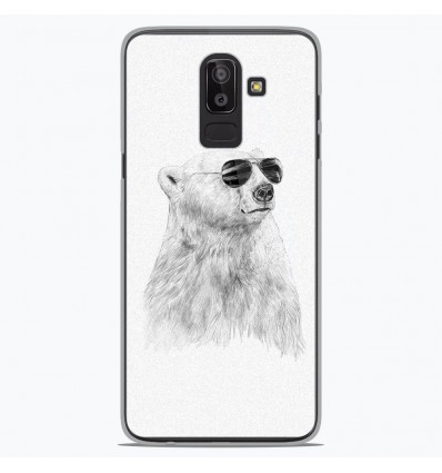 Coque en silicone Samsung Galaxy J8 2018 - BS Sunny bear