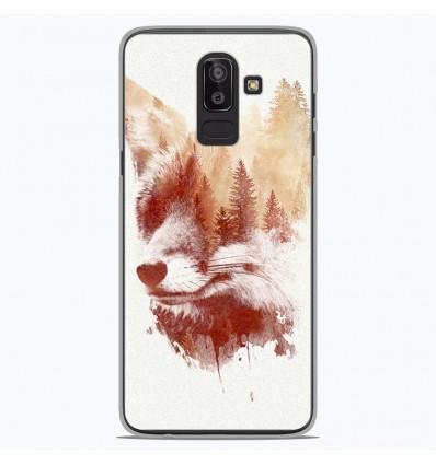 Coque en silicone Samsung Galaxy J8 2018 - RF Blind Fox