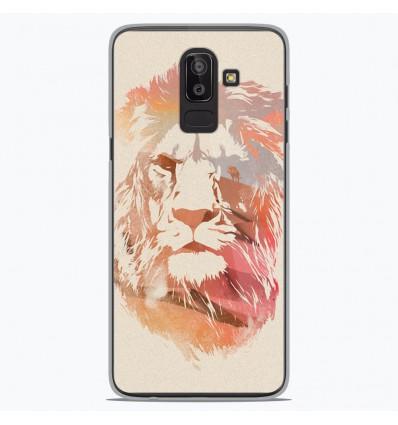 Coque en silicone Samsung Galaxy J8 2018 - RF Desert Lion