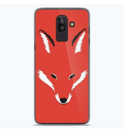 Coque en silicone Samsung Galaxy J8 2018 - RF Foxy Shape