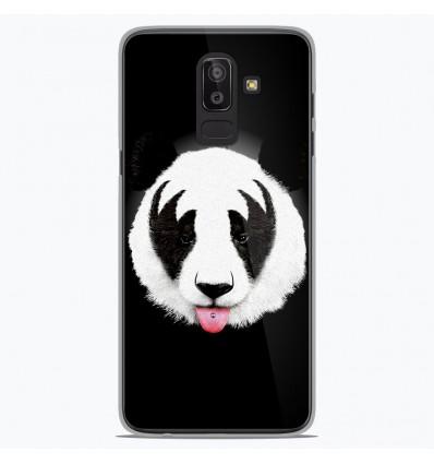 Coque en silicone Samsung Galaxy J8 2018 - RF Kiss Of Panda