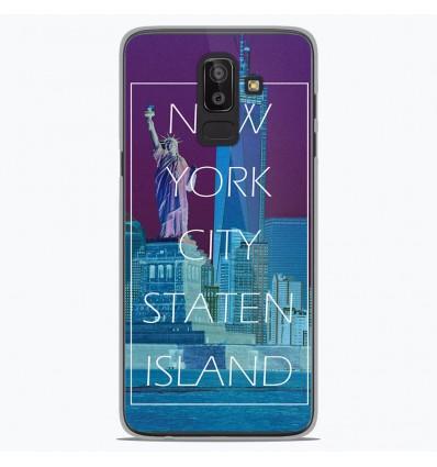 Coque en silicone Samsung Galaxy J8 2018 - New york