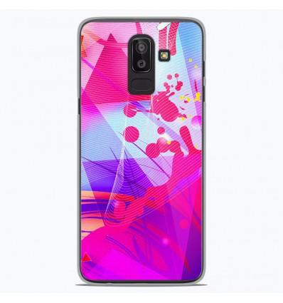 Coque en silicone Samsung Galaxy J8 2018 - Square