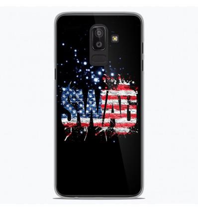 Coque en silicone Samsung Galaxy J8 2018 - Swag usa