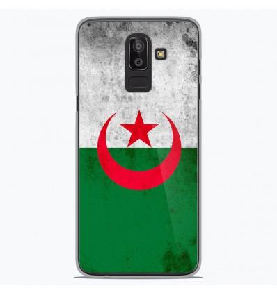 Coque en silicone Samsung Galaxy J8 2018 - Drapeau Algérie