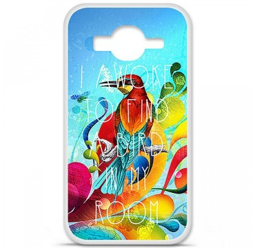 Coque en silicone Samsung Galaxy Core Prime / Core Prime VE - Mocking bird