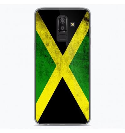 Coque en silicone Samsung Galaxy J8 2018 - Drapeau Jamaïque