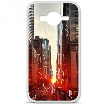 Coque en silicone pour Samsung Galaxy Core Prime / Core Prime VE - Sunny side