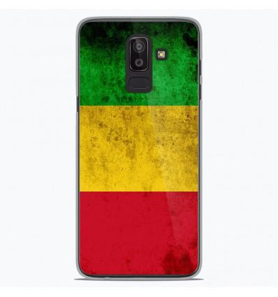 Coque en silicone Samsung Galaxy J8 2018 - Drapeau Mali